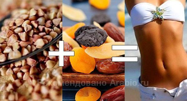Гречневая диета, безопасно похудеть за одну неделю на 7 кг